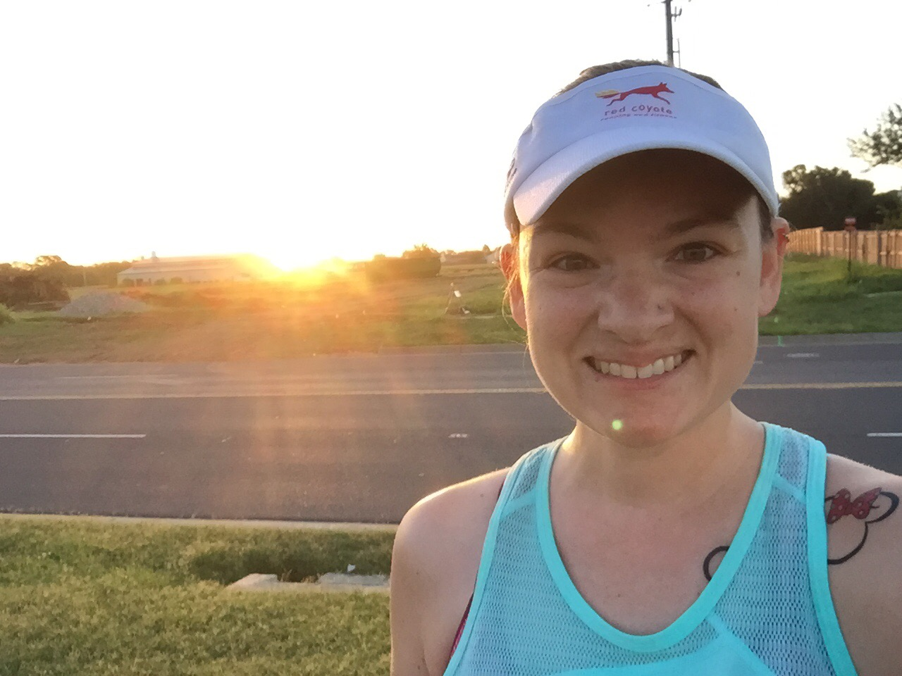 I love sunrise runs!
